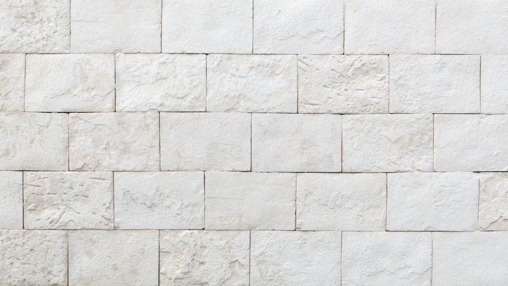 白いレンガの壁の無料バーチャル背景素材