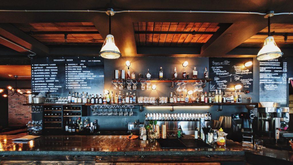 バー(bar)のバーチャル背景