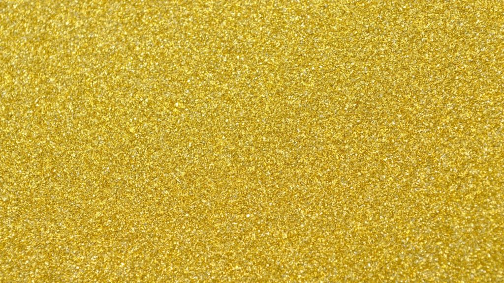 一面ゴールドのスプリンクルの無料バーチャル背景素材