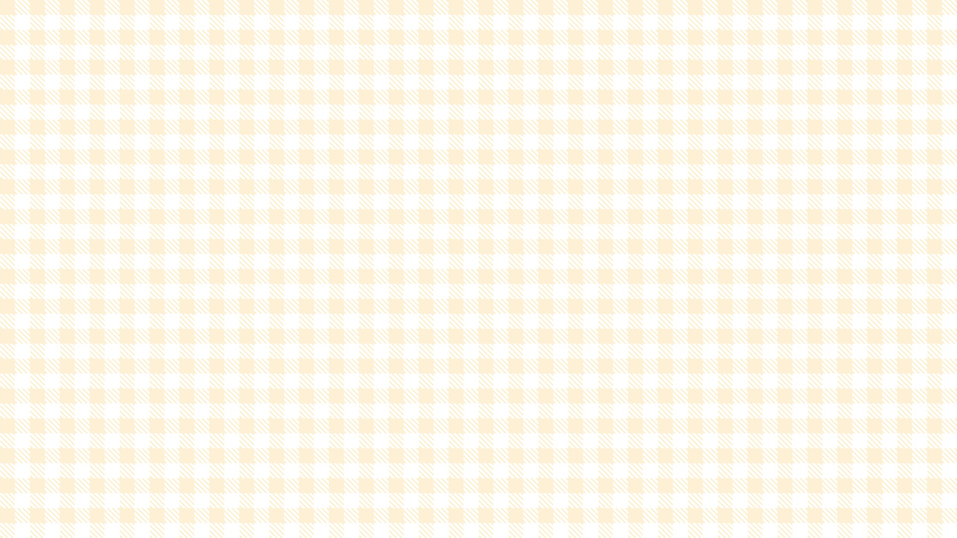 オレンジ色のチェック柄の壁