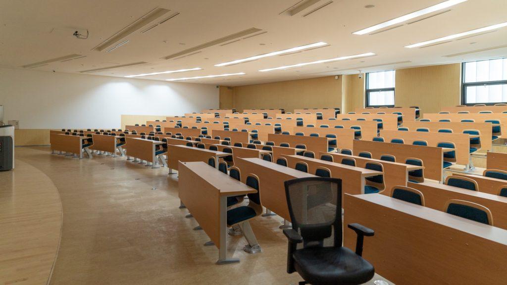 小さな講義室