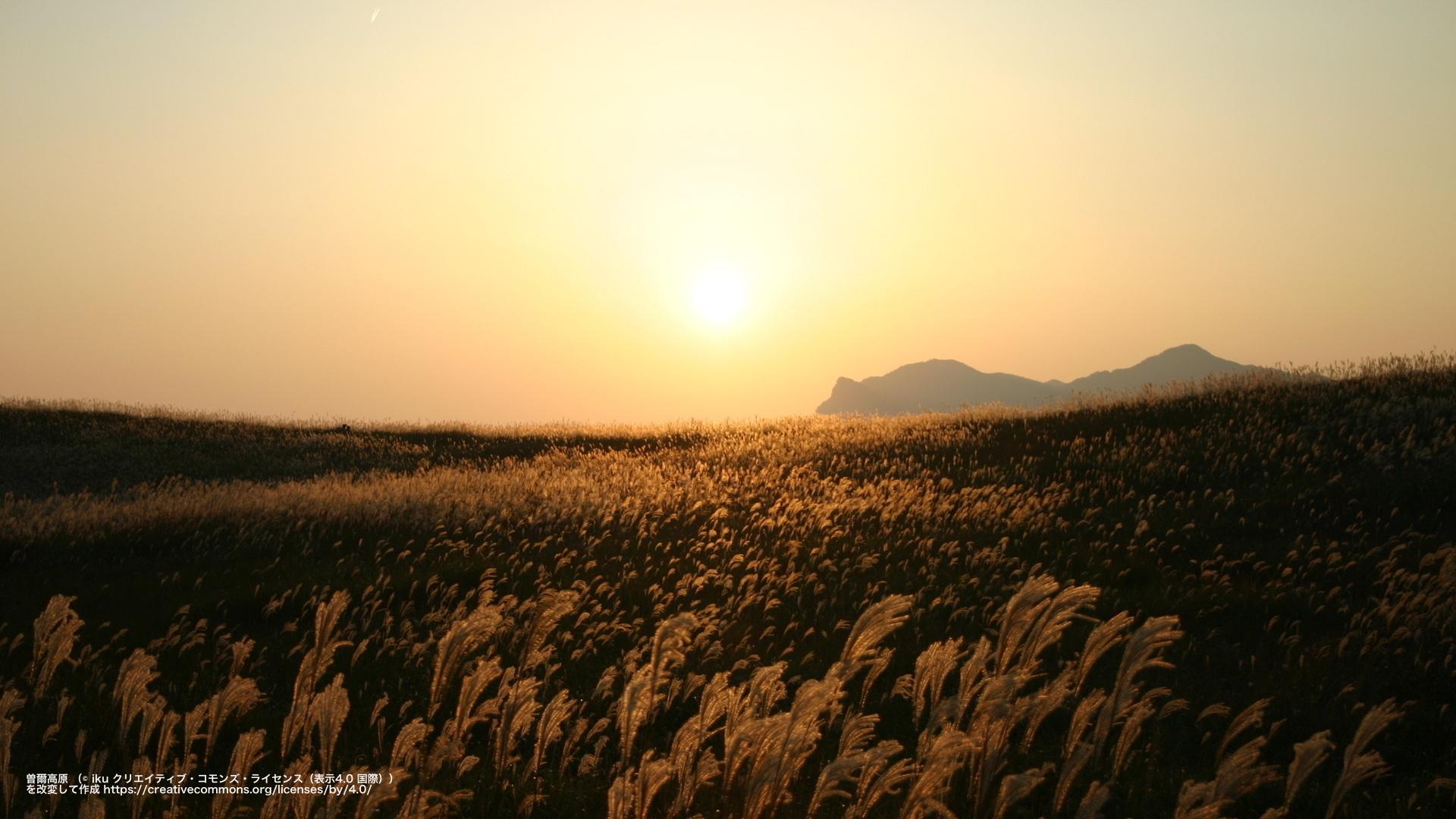 曽爾高原(奈良県)
